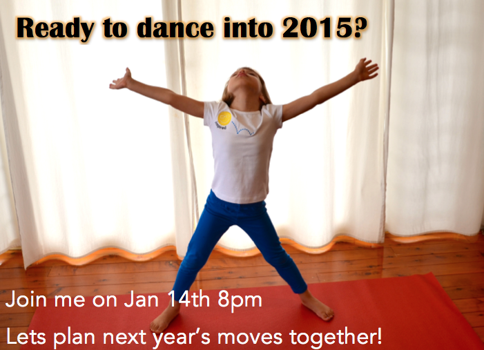 2015 Webinar - 5 To Ways to Begin the Year - new moves!