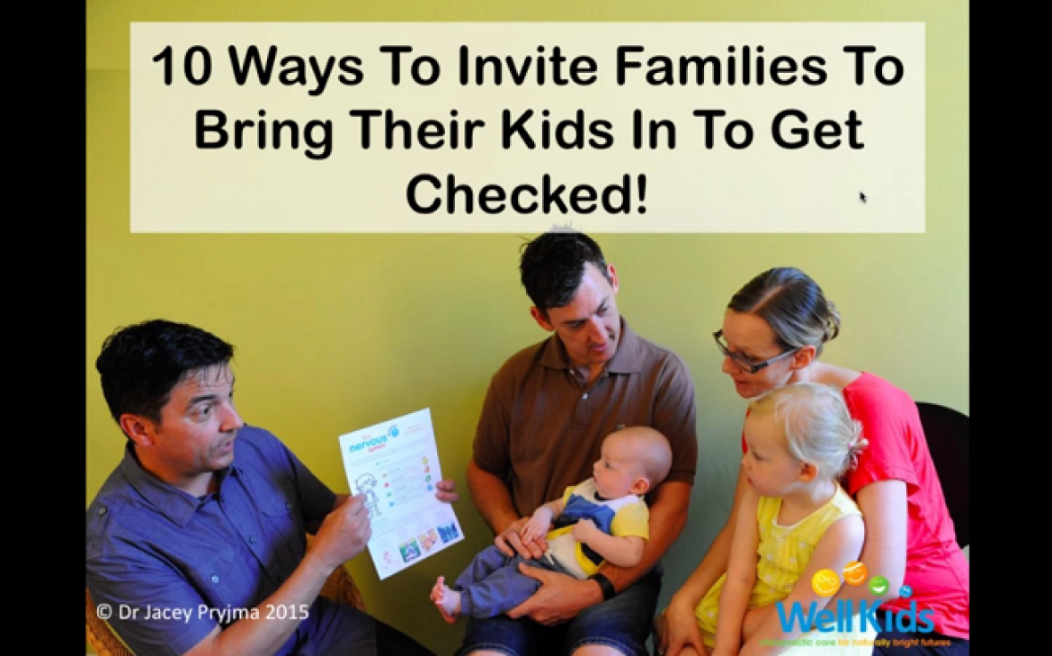 FREE WEBINAR: 10 Ways To Invite Parents To Have Their Kids Checked