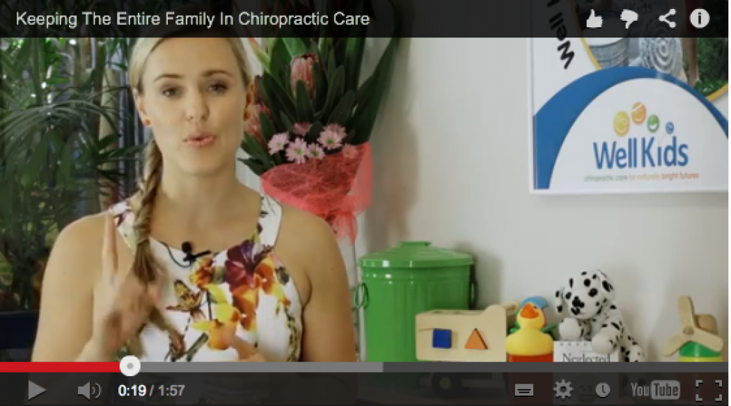 Keeping The Entire Family In Chiropractic Care