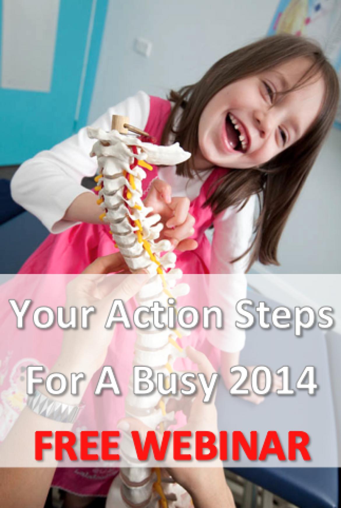Free Webinar: Action Steps For Jan/Feb 2014